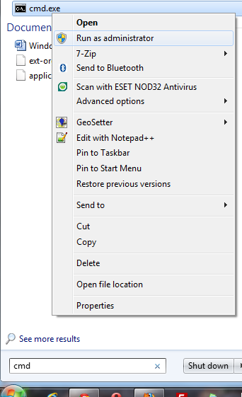 how to get elevated privileges cmd in windows 10